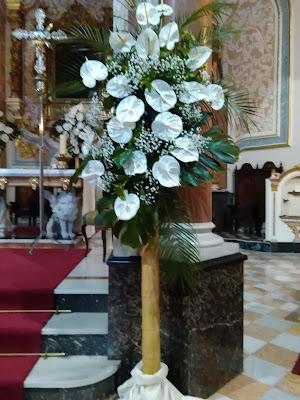 Decoración de iglesias para boda - Decoflor Puzol