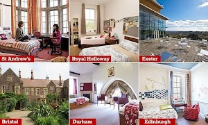 Could These Be UK's Poshest Student Rooms? (Photos)