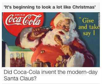 Did Coca Cola Invent Santa Cnn Article On Christmas Traditions And Where They Come From