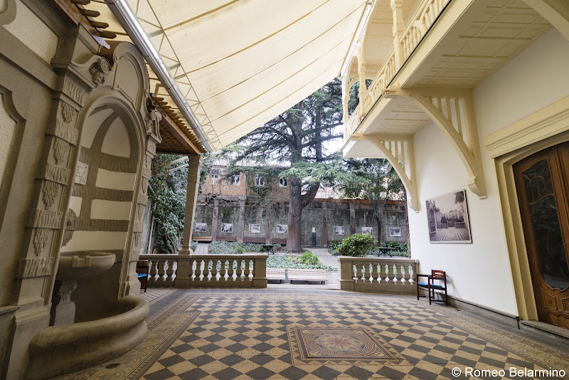 Writers' House of Georgia Garden Old Tbilisi Walking Tour