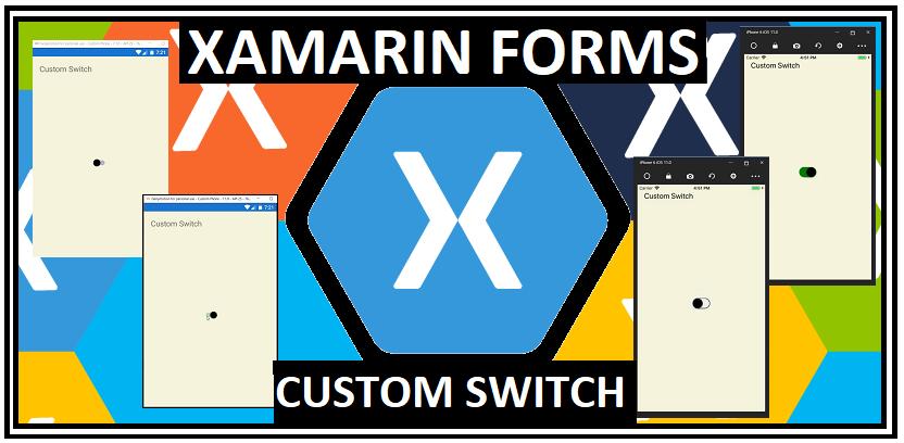 Xamarin Buddy }: Xamarin Forms Custom Switch Button