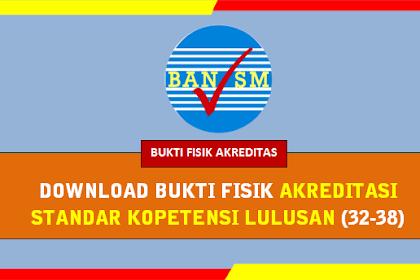 Download Bukti Fisik Akreditasi Standar Kopetensi Lulusan (32-38) terbaru 2019
