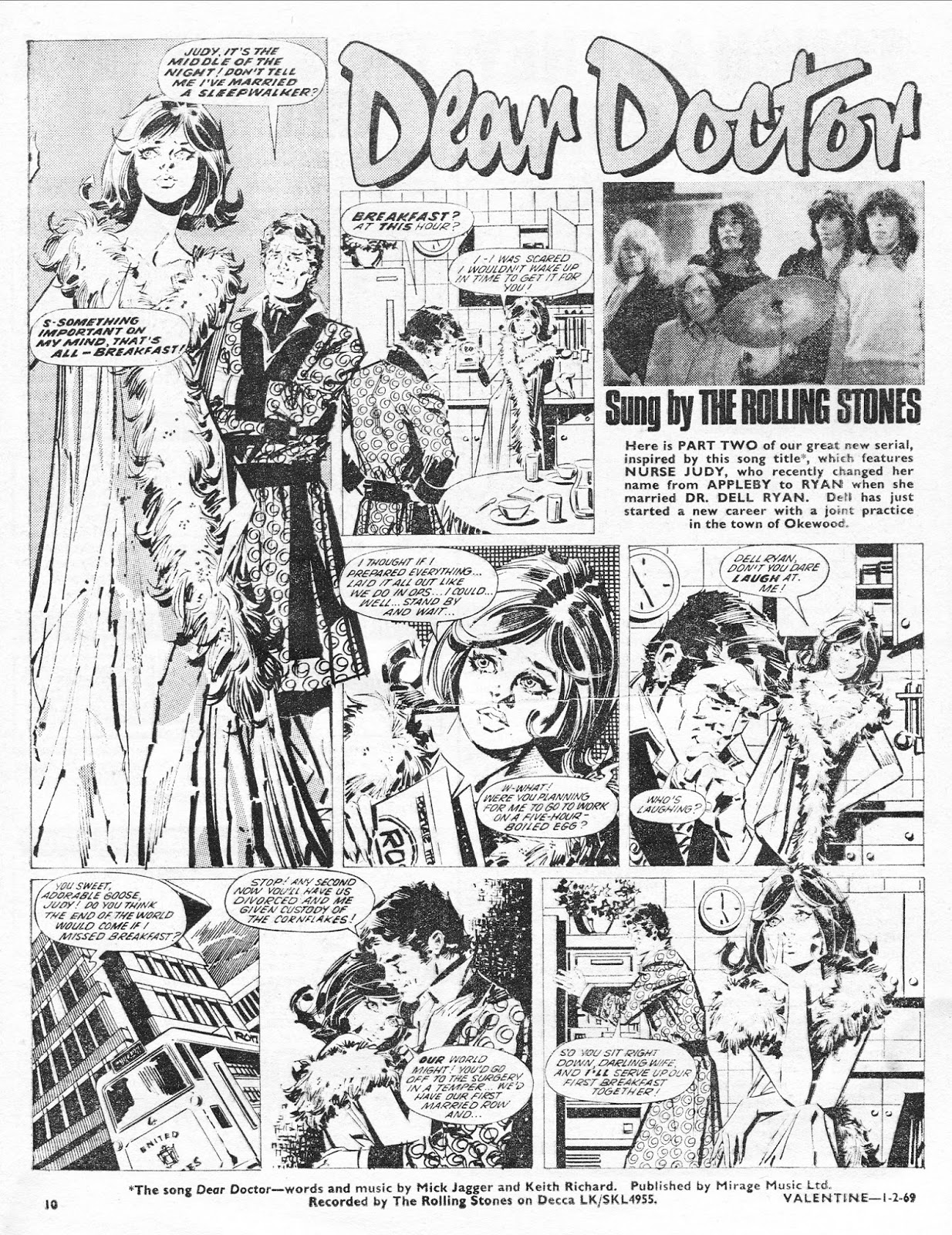 Out of this world british girls romance comics valentine 1st the rest of the comic continues with more of the same mixture articles focused on pop stars interspersed with comics and some ads voltagebd Choice Image