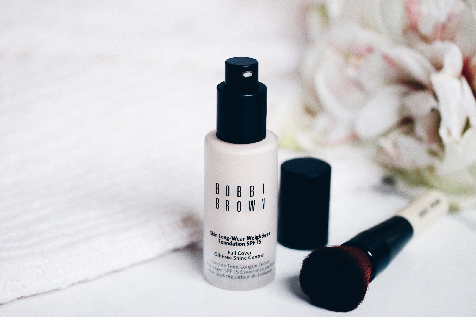 bobbi brown long wear wieghtless foundation fond de teint avis test