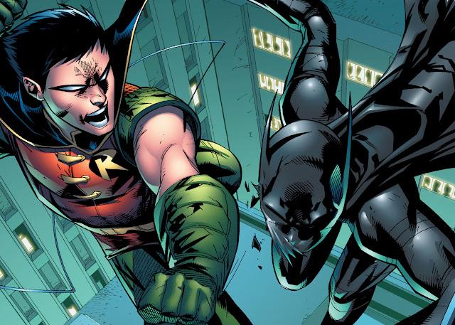 Batgirl, robin and batgirl