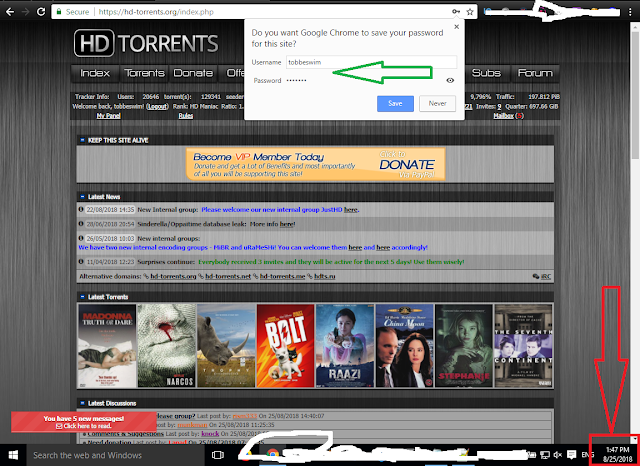 HD-torrents Premium Account 2018