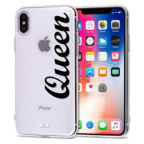 Iphone Xr Case Queen Slim Fit Black Shockproof Bumper Cheap Cell Phone Accessories Queen King Design Thin Soft Tpu Protective Cover For Women Apple Iphone Xr Cases Luxury For Girls 06
