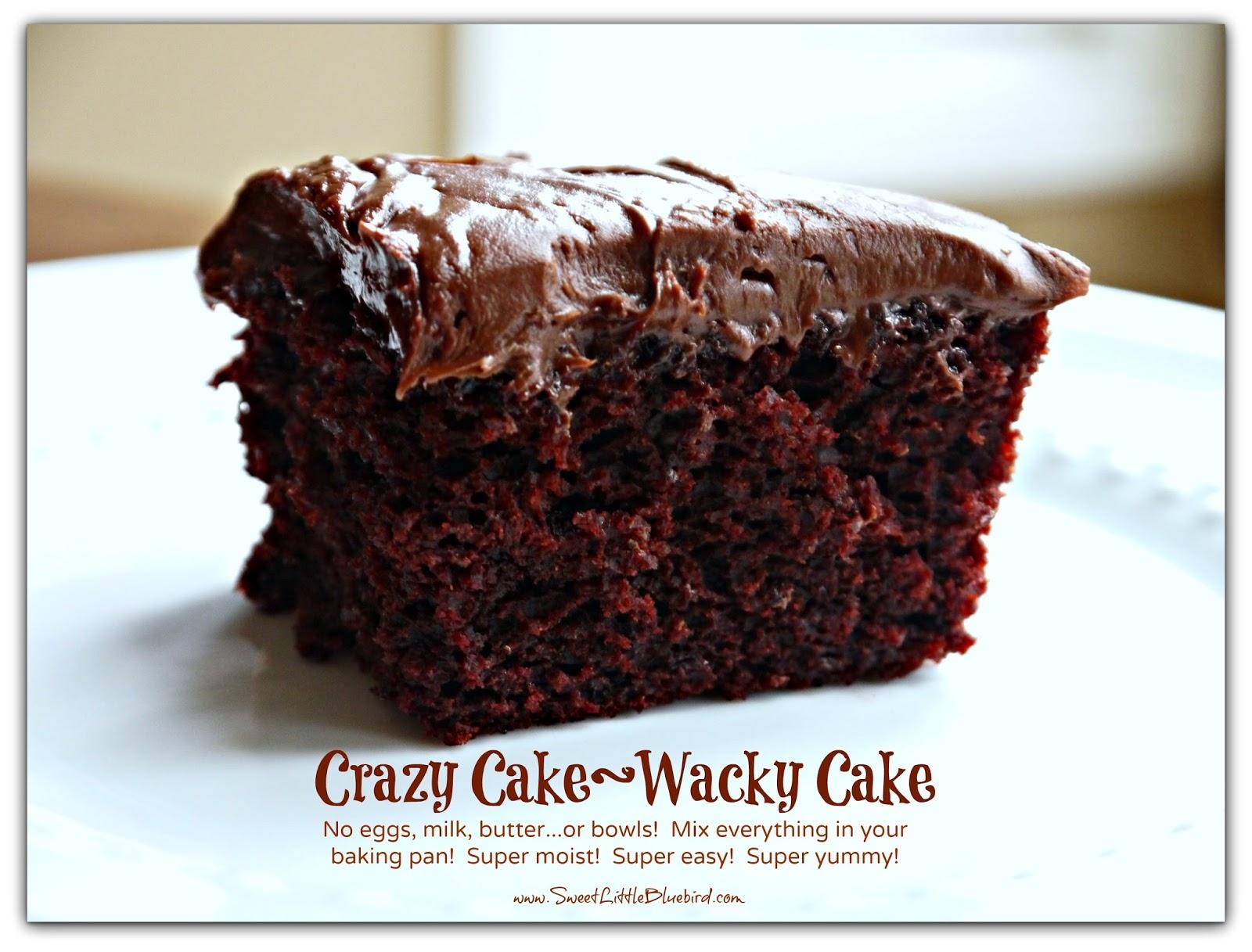 Recipe wicky wacky cake