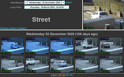 ContaCam - Logiciel de Surveillance Cam sur Windows