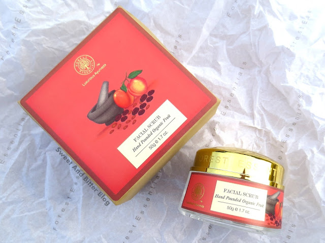Forest Essentials Hand Pounded Organic FRUIT FACIAL ORGANIC Review