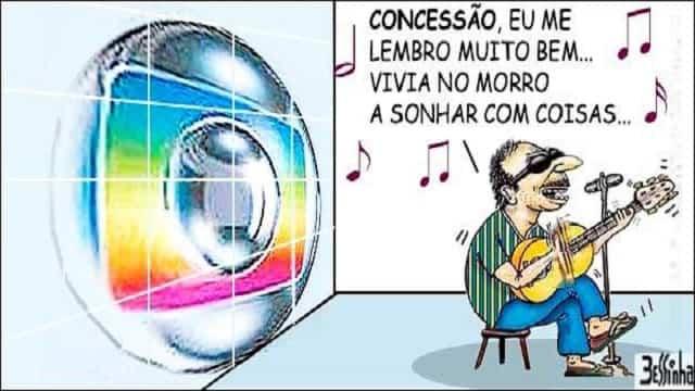 Globo emparedou o STF