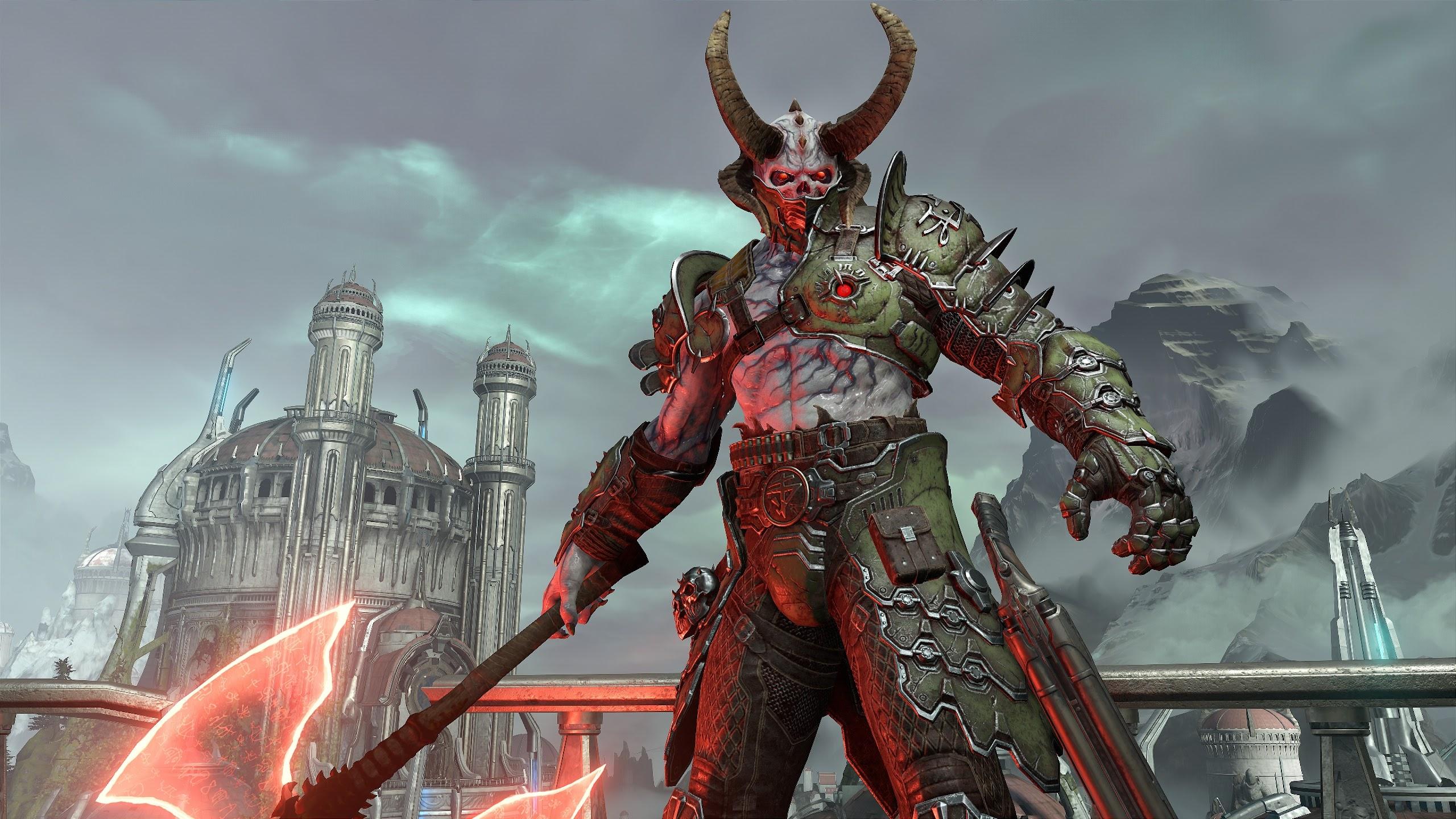 Doom Eternal Marauder 4k Wallpaper 19