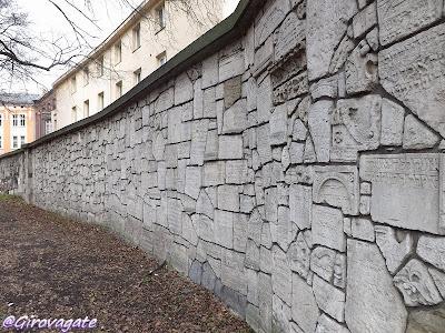 Kazimierz Cracovia muro pianto remu