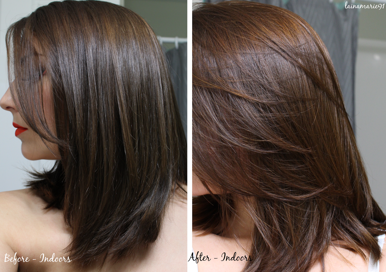 Lush Caca Rouge Henna Hair Dye Before After Dark Lots Of Pictures