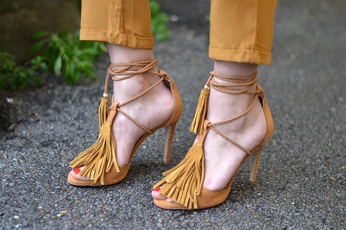 sandali frange sante shoes