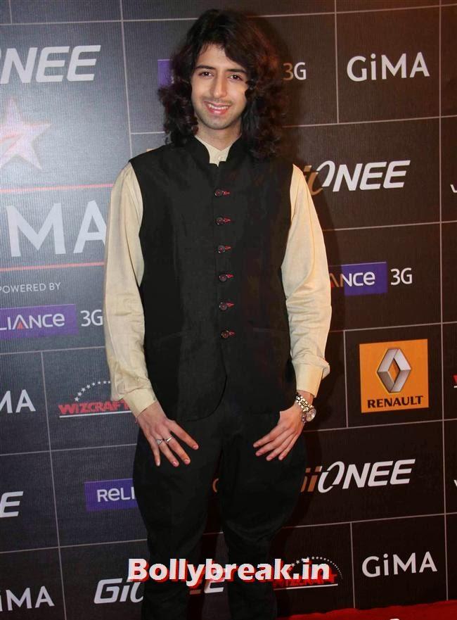 Shreyas Pardi, Global Indian Music Awards 2014 Pics