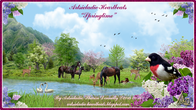 Springtime On Heartbeats by Artsieladie