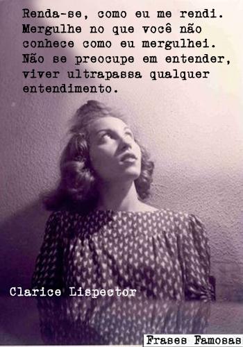 Frases De Amor De Clarice Lispector