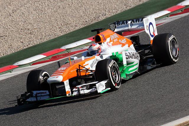 Gambar Mobil Balap F1 Force India 02