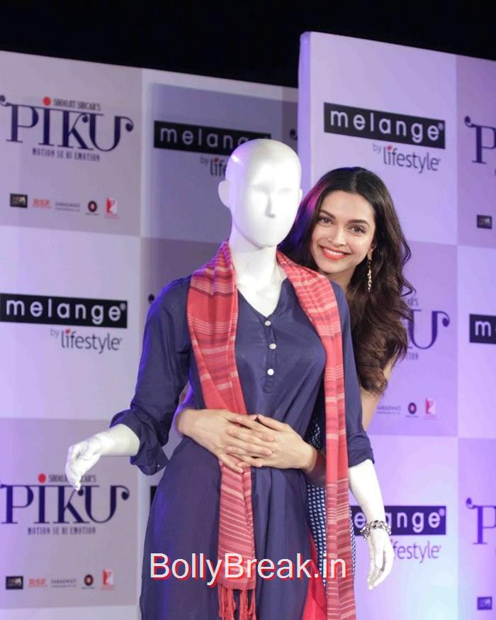 Deepika Padukone, Deepika Padukone Hot Pics At  'Piku' Promotion at Melange by Life Style
