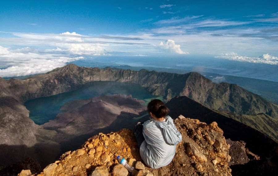 Mt Rinjani Summit 3726 m
