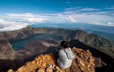 Mt Rinjani Summit 3726 m
