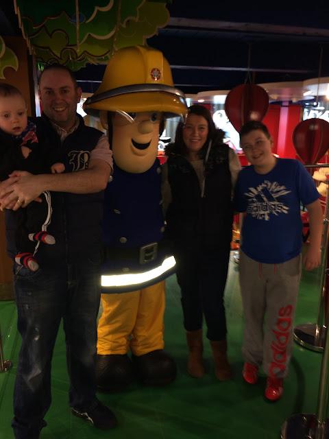 Fireman Sam, Hamleys, Trafford Centre