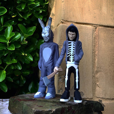 Donnie Darko & Frank the Bunny Resin Figure Set by WheresChappell