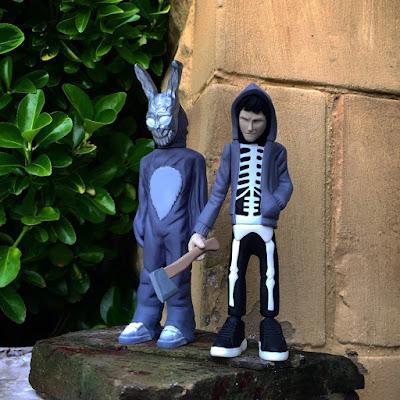 Donnie Darko & Frank the Bunny Resin Figure Set by WheresChappell