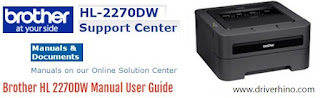 Brother HL 2270DW Manual User Guide
