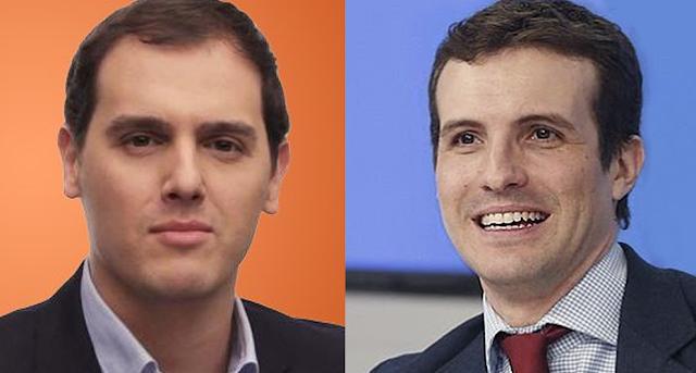 Rivera se ofrece al PP para formar un gobierno de coalición