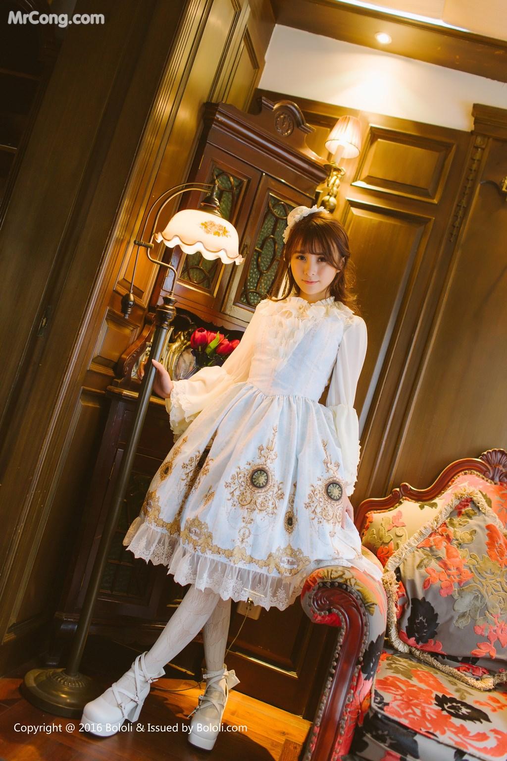 Image Tukmo-Vol.113-Xia-Mei-Jiang-MrCong.com-004 in post Tukmo Vol.113: Người mẫu Xia Mei Jiang (夏美酱) (63 ảnh)