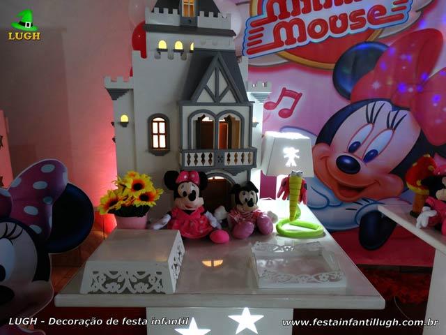 Decoração infantil Minnie Rosa - Festa de aniversário