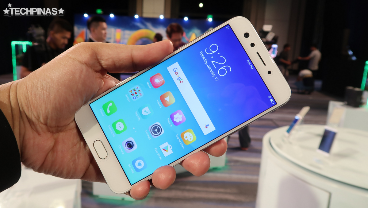 OPPO F3, OPPO F3 Dual Selfie Camera Phone