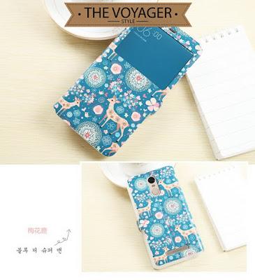 Flip case cover Xiaomi Redmi Note 3 Pro casing import motif unik lucu keren