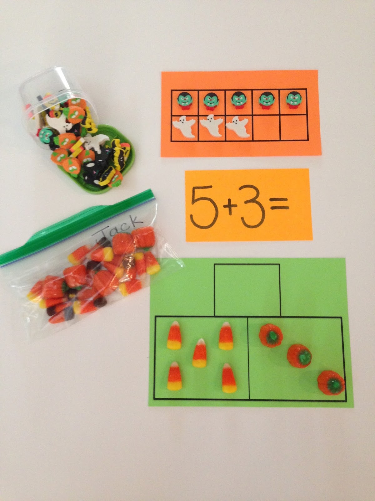 Addition And Subtraction Fall Pumpkins Halloween