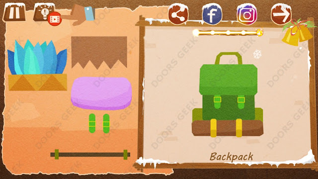Chigiri: Paper Puzzle Christmas Pack Level 24 (Backpack) Solution, Walkthrough, Cheats