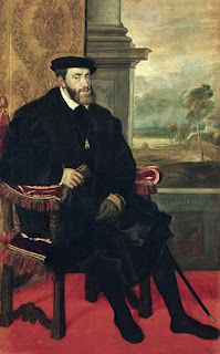 Titian's portrait of Holy Roman Emperor Charles V