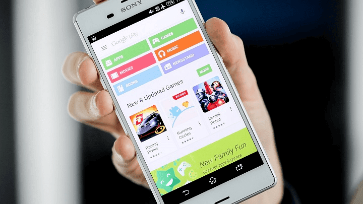 download aplikasi via play store