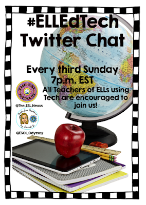 Info about new Twitter chat #ELLEdTech | The ESL Connection