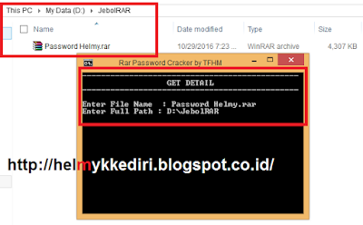 Cara Membobol Password Winrar Terbaru