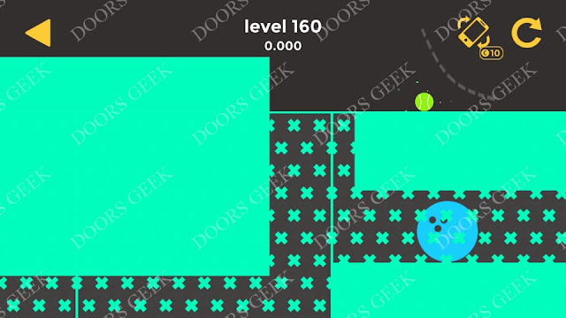 Ball & Ball Level 160 Solution, Walkthrough, Cheats for android and ios