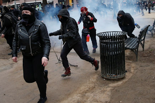 "Stop Calling Black Bloc Anarchists ""Protestors"" & Lumping Them In With Non-Violent Democrats."