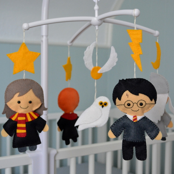 cozy birdhouse | harry potter crib mobile