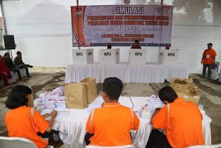 6.385 KPPS ikuti Simulasi Pemilu di Kota Cirebon