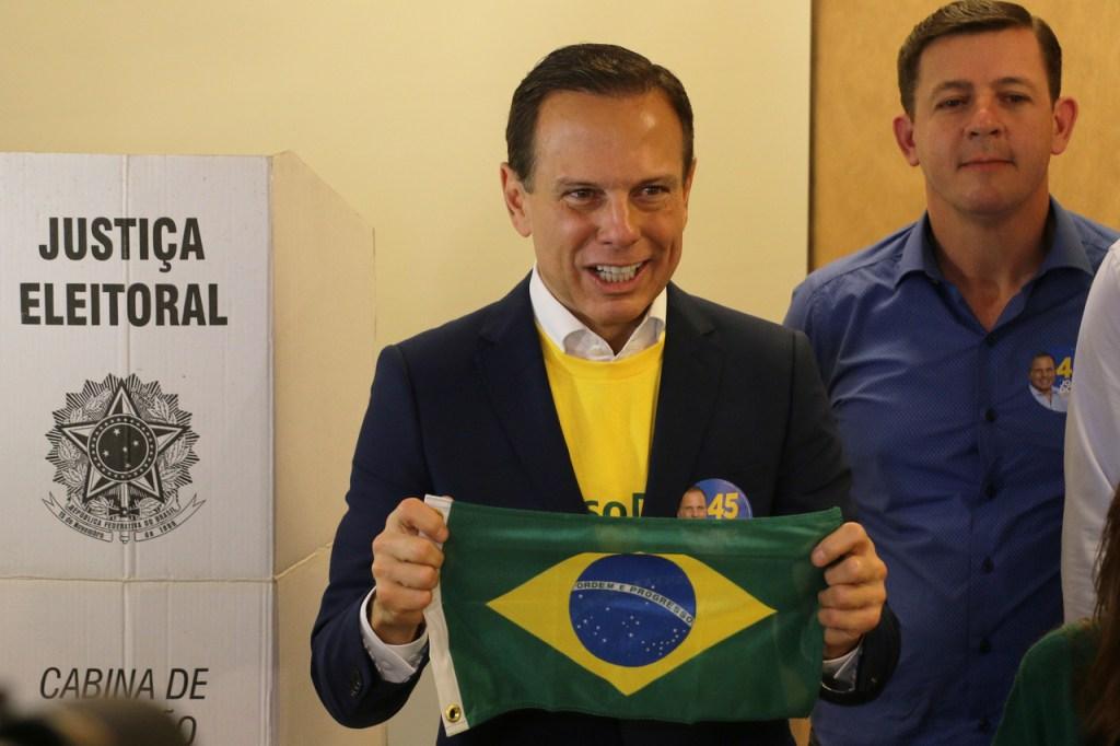 João Doria, do PSDB, é eleito governador de São Paulo