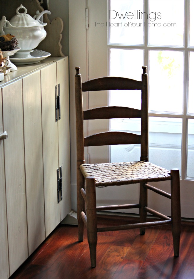 Small Antique Chair Solution For Clutter Dwellings The