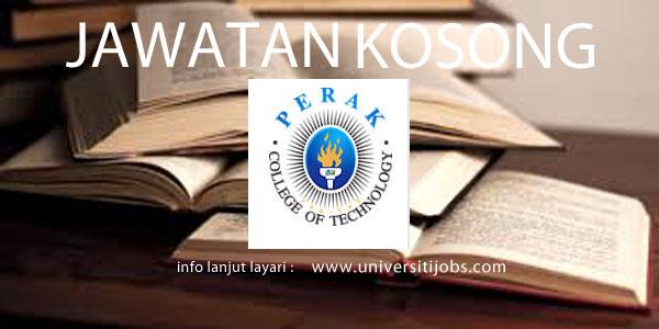 Jawatan Kosong Institut Teknologi Perak 2016