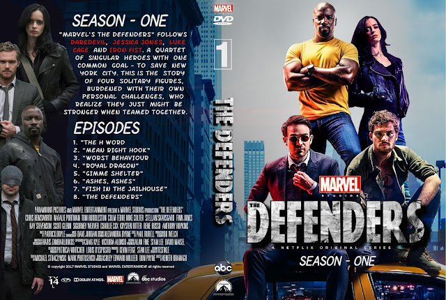 The Defenders Season 1 DVD Cover