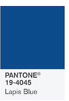 Source: Pantone. Lapis blue.